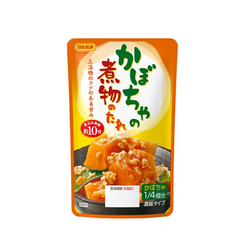 日本食研 かぼちゃの煮物のたれ 80g×6個