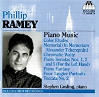 Piano Music by PHILLIP RAMEY (2006-06-13)