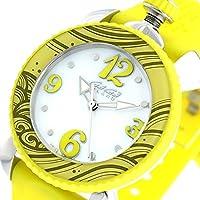ガガミラノ GaGaMILANO レディスポーツ クオーツ レディース 腕時計 7020.08 ホワイト/イエロー [並行輸入品]
