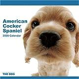 THE DOGアメリカン・コッカー・スパニエル 2009年カレンダー 画像