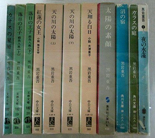 黒岩重吾 文庫 11冊セット (文庫古書セット)の詳細を見る