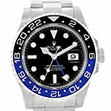 Rolex GMTマスターII automatic-self-wind Mens Watch 116710(認定pre-owned )