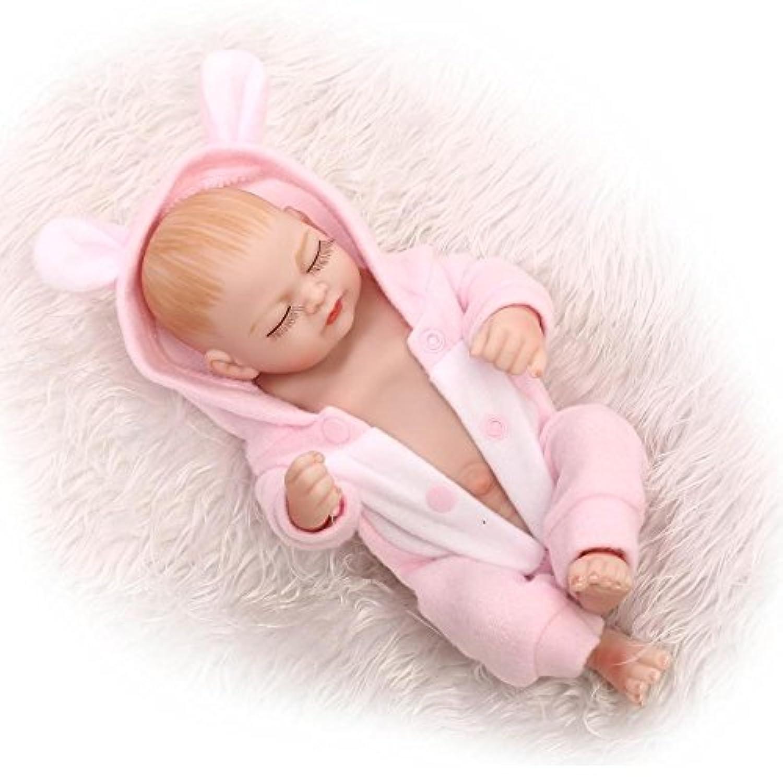 NPK Sleeping Rebornベビー人形FullビニールボディソフトシリコンReal Life Like新生児Dolls Girl