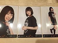 乃木坂46 北野日奈子 真夏の全国ツアー2017 新潟.ver ライブT Tシャツ 3種コンプ 生写真