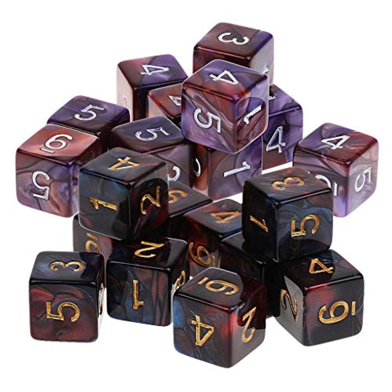 F Fityle 約20個 アクリル ダイス 骰子 ダンジョンズアンドドラゴンズ用