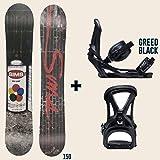 【SIMS SNOWBOARDS・LINK】シムス・リンク 2017-2018 メンズ レディース スノーボード+ビンディング セット販売 板 ウィンタースポーツ