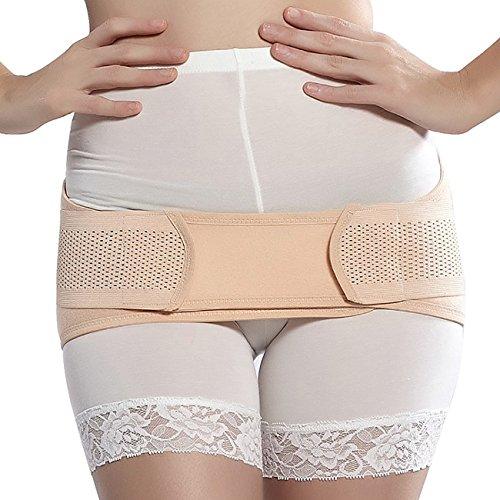 オダマキ 女性用 骨盤ベルト サポーター 産前 産後 妊婦 ダイエット ずれない ゴム くびれ (M:85~90cm)