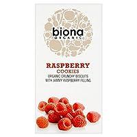 有機ラズベリークッキー175グラムBiona (x 4) - Biona Organic Raspberry Cookies 175g (Pack of 4) [並行輸入品]