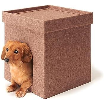 Subako ペット 犬 猫 ボックス ハウス型ベッド (レギュラー)