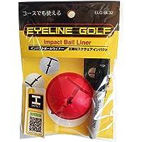 アサヒゴルフ EYELINE GOLF IMPACT BALL LINER BL32
