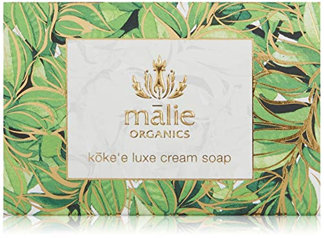 Malie Organics(マリエオーガニクス) ラックスクリームソープ コケエ 113g