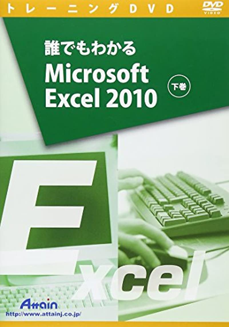 添加剤ぴったり麦芽誰でもわかるMicrosoft Excel 2010 下巻