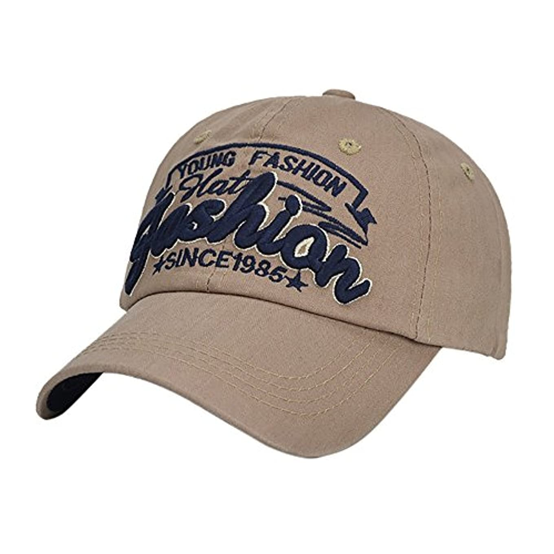 カバー庭園何故なのRacazing Cap ヒップホップ 野球帽 ストリートダンス 夏 登山 通気性のある 帽子 パール ビーディング 可調整可能 日焼け止め 棒球帽 UV 帽子 軽量 屋外 女性向 Hat (コーヒー)