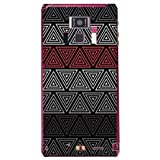 YESNO トライアングル ブラック (クリア) / for REGZA Phone T-01D/docomo DTSR1D-PCCL-201-N069