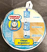 Thomas & Friends 4 Tier Hanging Closet Organizer [並行輸入品]