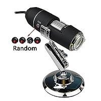 Holarosies 調節可能な明るさ1600X / 1000X 8 LED 2MPデジタルの顕微鏡のCMOSセンサーが付いている手持ち型の生物内視鏡