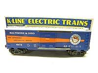 k-line k6473Baltimore & OhioクラシックボックスCar