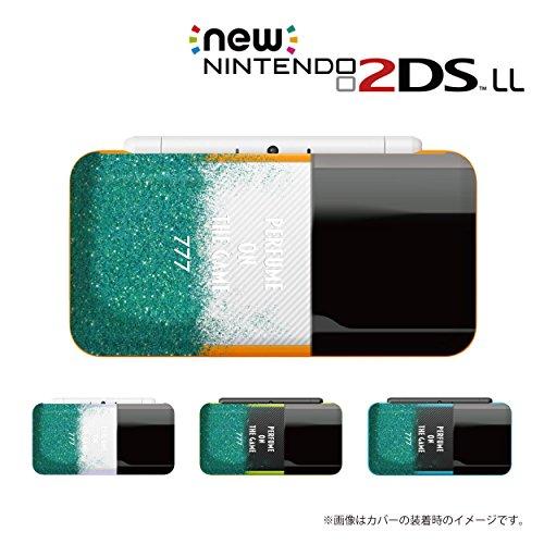 New ニンテンドー 2DS LL 対応 カバー ケース 香水 perfume 緑色 ブラックキャップ