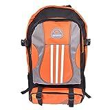 全3色 アウトドア 登山用 リュック サック バッグパック アルパインバッグ レッド ネイビー オレンジ (03.アルパインバッグ オレンジ)