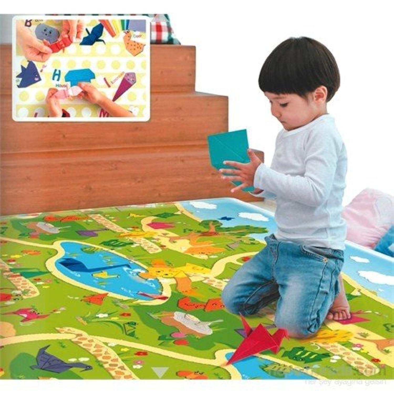 Serra Baby Amazing Origamiゲームマット230 x 140 cm、厚さ15 mm