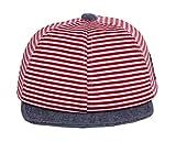 Amazon.co.jp(ビグッド)Bigood ベビー 赤ちゃん 野球帽 キャスケット キャップ 帽子 キッズサンバイザー アウトドア 旅行 通学(レッドO)