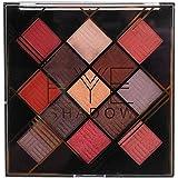 13色アイシャドウパレット アイシャドウパレット 化粧マット グロス アイシャドウパウダー 化粧品ツール (1020-2-02#)