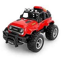 Ycco RTRスタント用子供ギフトリモートコントロール玩具充電スタントダンプトラック子供のおもちゃリモートコントロールカー2.4GHz 4WDオフロード高速RCカーRCスタントカーリモートバッテリー付