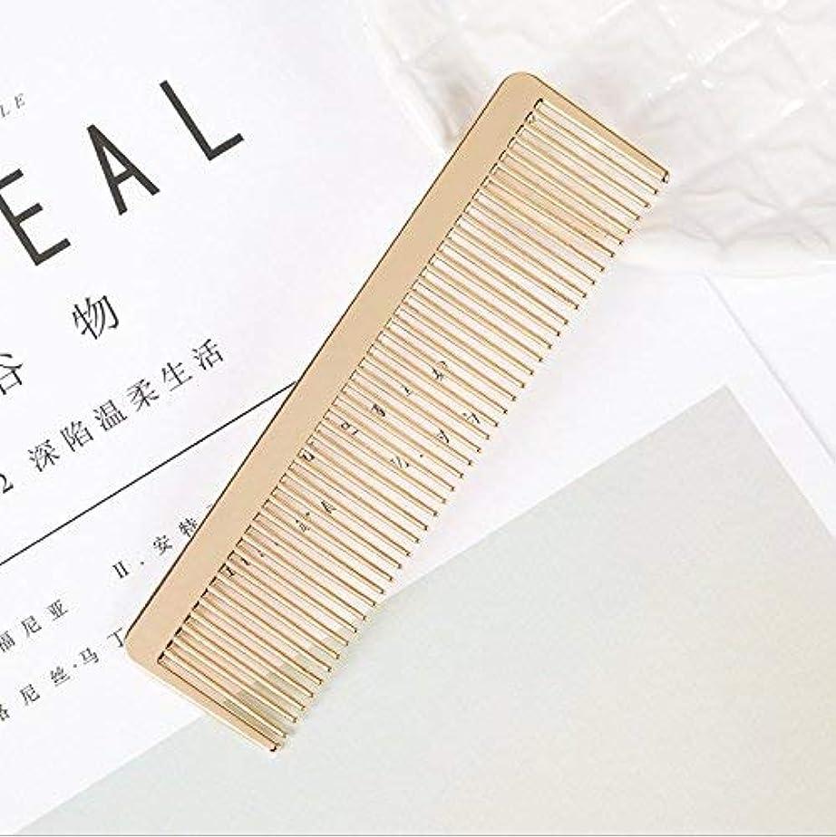 タッチ肉腫傑作Ann Lee Design Golden Hair Comb [並行輸入品]