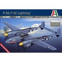 タミヤイタレリ1 / 48飛行機シリーズ2681 1 / 48ロッキードP - 38 / f-5eライトニング38681