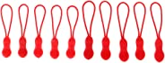 DYNWAVE 10 Pack Zipper Pulls Zipper Extension Pulls Nylon Cord Zipper Tag Replacement for Clothes, Backpacks, Traveling Case,