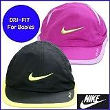 ナイキ NIKE ナイキ ベビー DRI-FIT ドライフィット 帽子 つば付帽 赤ちゃん お出掛け帽 46〜48cm-デザインB/黒×黄色