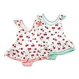 Bobson(ボブソン)ワンピース水着(80〜130cm)キムラタンの子供服(88325-171b)ピンク100