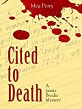 Cited to Death: A Jamie Brodie Mystery (Jamie Brodie Mysteries Book 1) (English Edition)