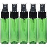 スプレーボトル 30mL グリーン 5本セット 遮光性 おしゃれ空容器gr30-5