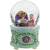USディズニー限定 美女と野獣 フィギュア Disney Store Beauty and the Beast Musical Snowglobe [並行輸入品]