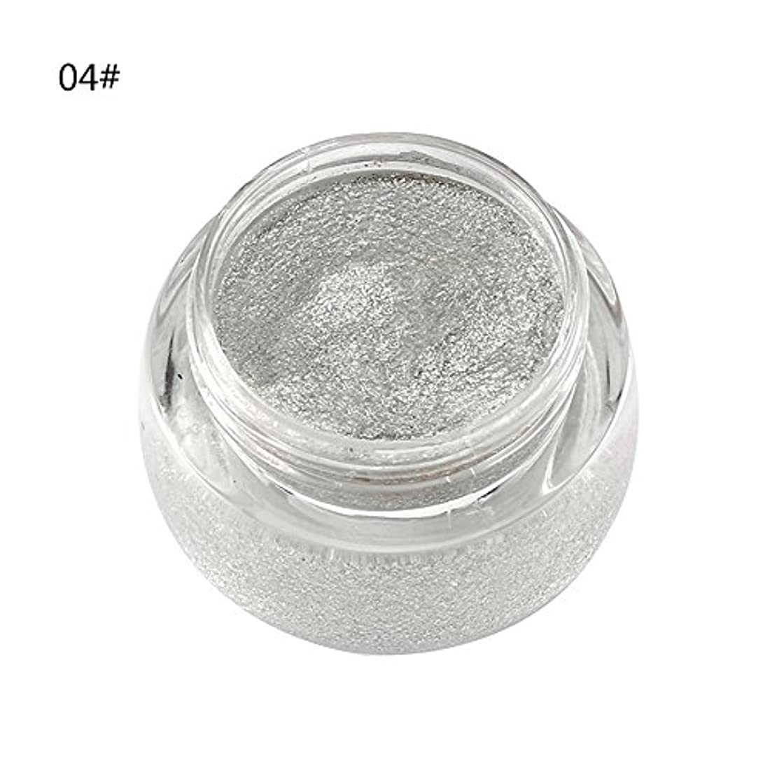 機械的に適応する継続中アイシャドウ 単色 化粧品 光沢 保湿 キラキラ 美しい タイプ 04