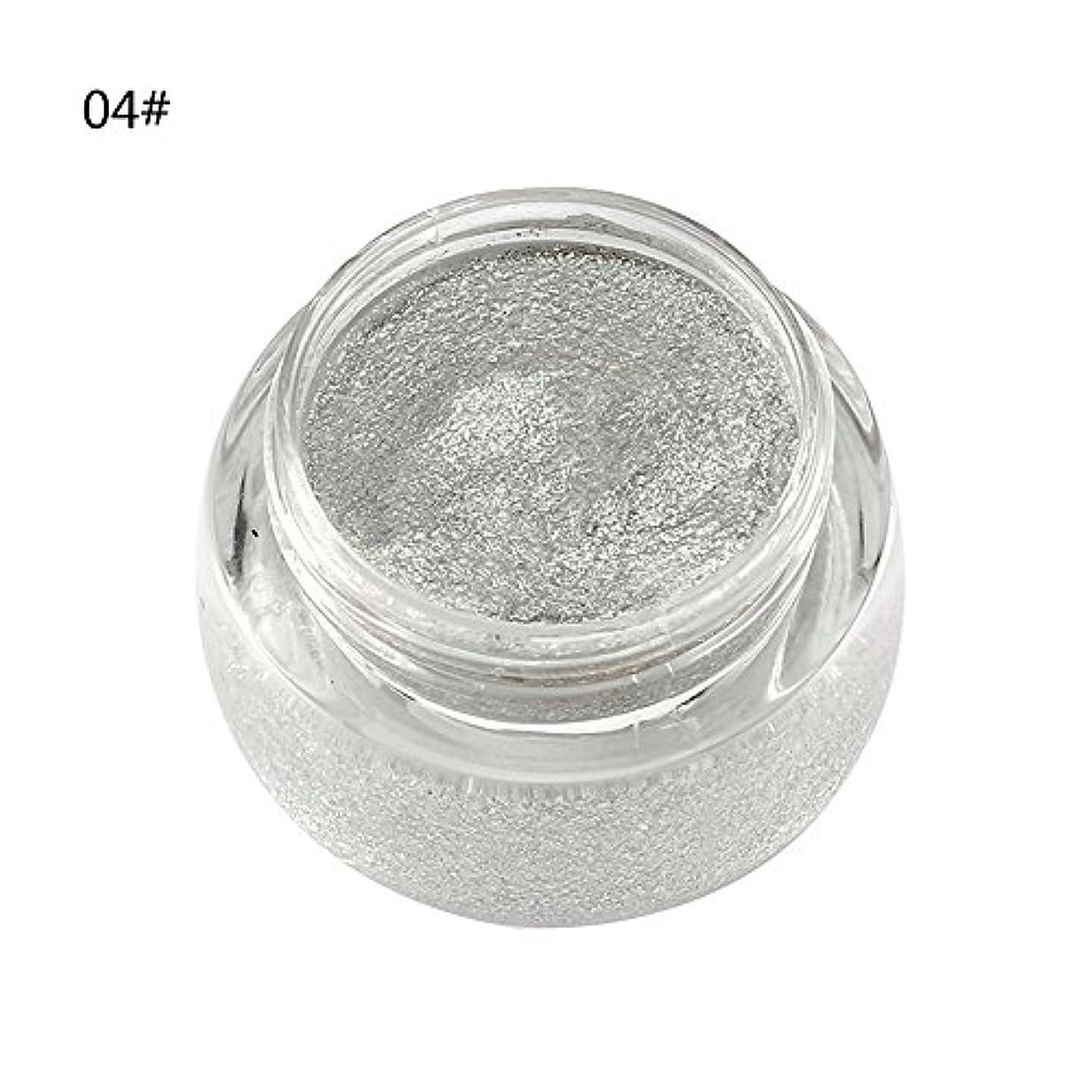 繁栄する迅速五アイシャドウ 単色 化粧品 光沢 保湿 キラキラ 美しい タイプ 04