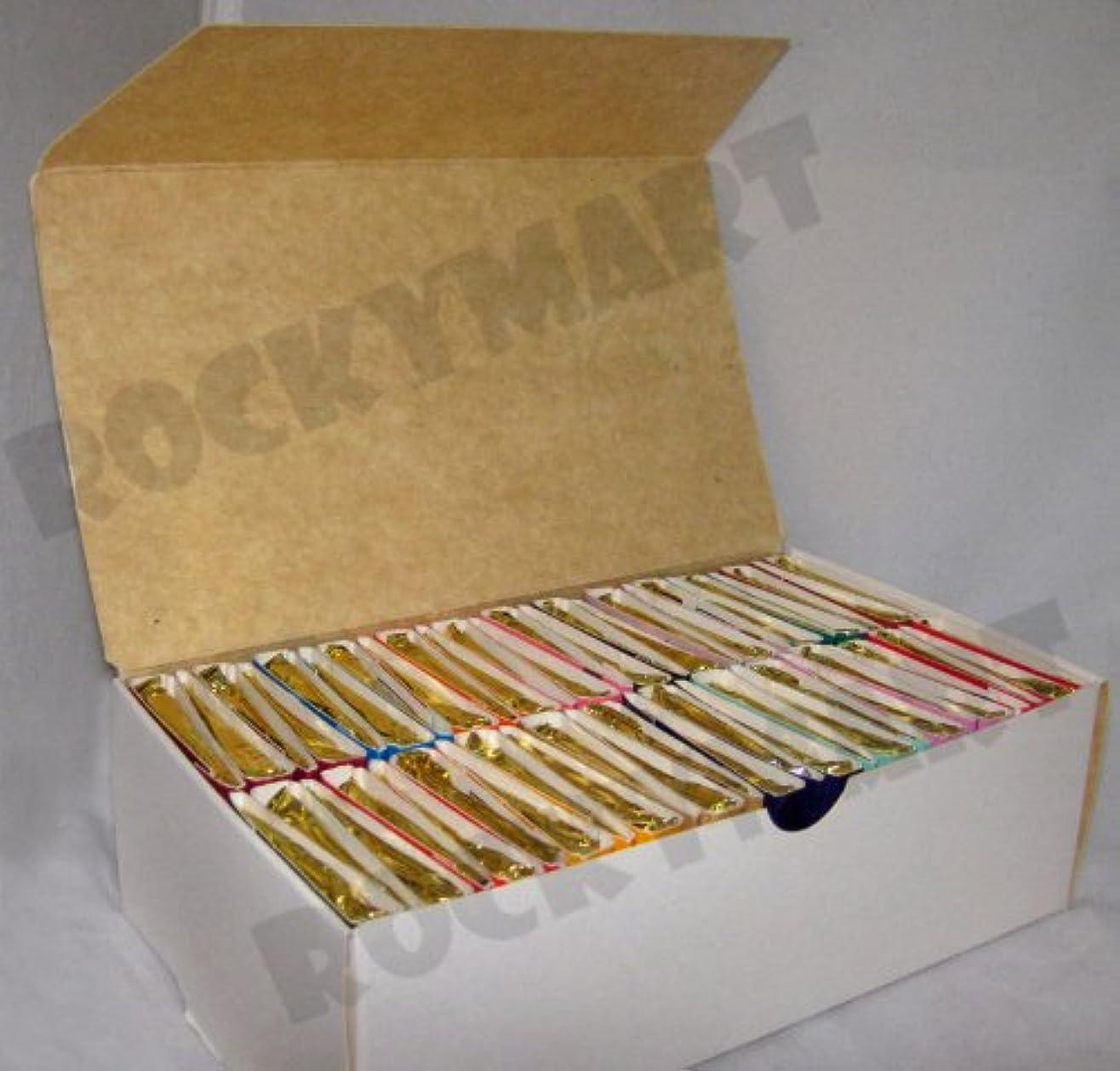 未満食事詩Box of 50 Books of Incense Matches - 16 Fragrances - Assorted - Scent Match