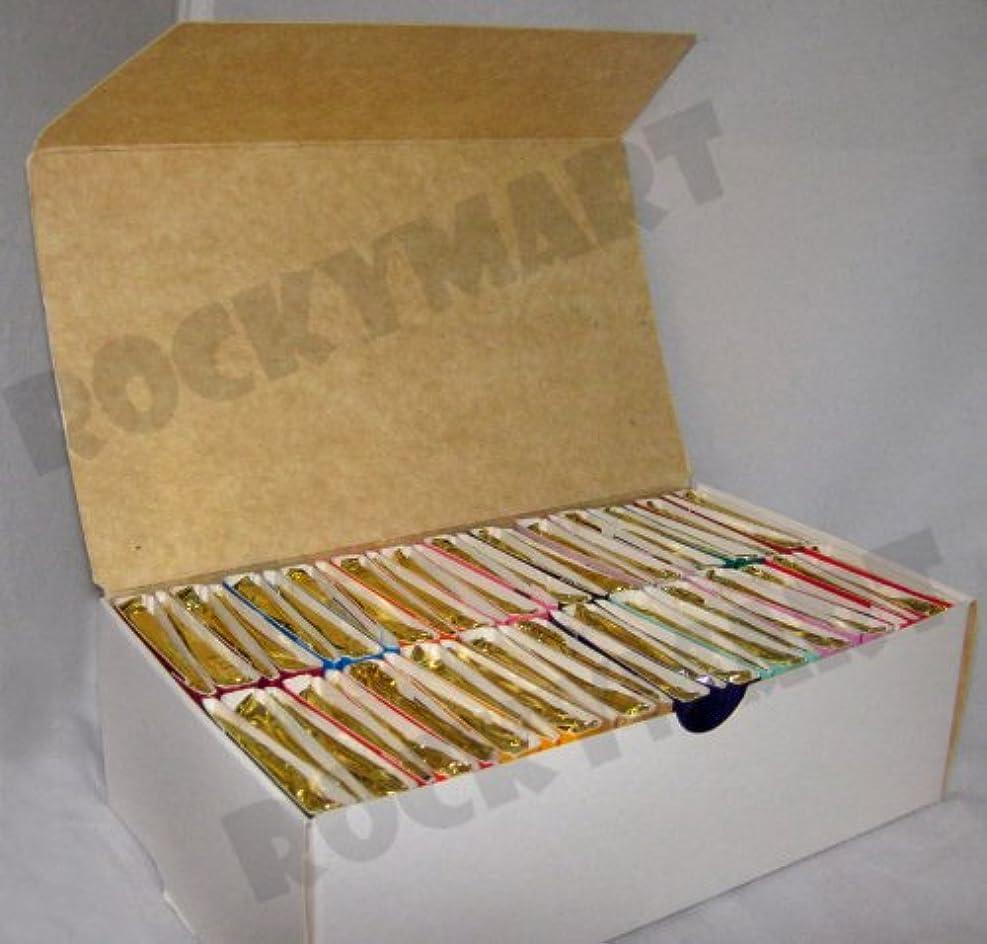 リス二次タップBox of 50 Books of Incense Matches - 16 Fragrances - Assorted - Scent Match