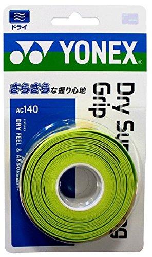 ヨネックス(YONEX) テニス バドミントン グリップテープ ドライスーパーストロンググリップ(3本入) AC140