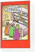 Fresh OutクリスマスユーモアGreeting Card 1 Christmas Card & Envelope (SKU:1659)