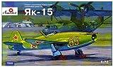 Aモデル 1/72 ソ連空軍 ヤコブレフYAK-15 ジェット戦闘機 プラモデル AM72023 (メーカー初回受注限定生産)
