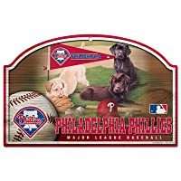 MLB Philadelphia Phillies 11-by-17-inch Killen印刷Wood Sign
