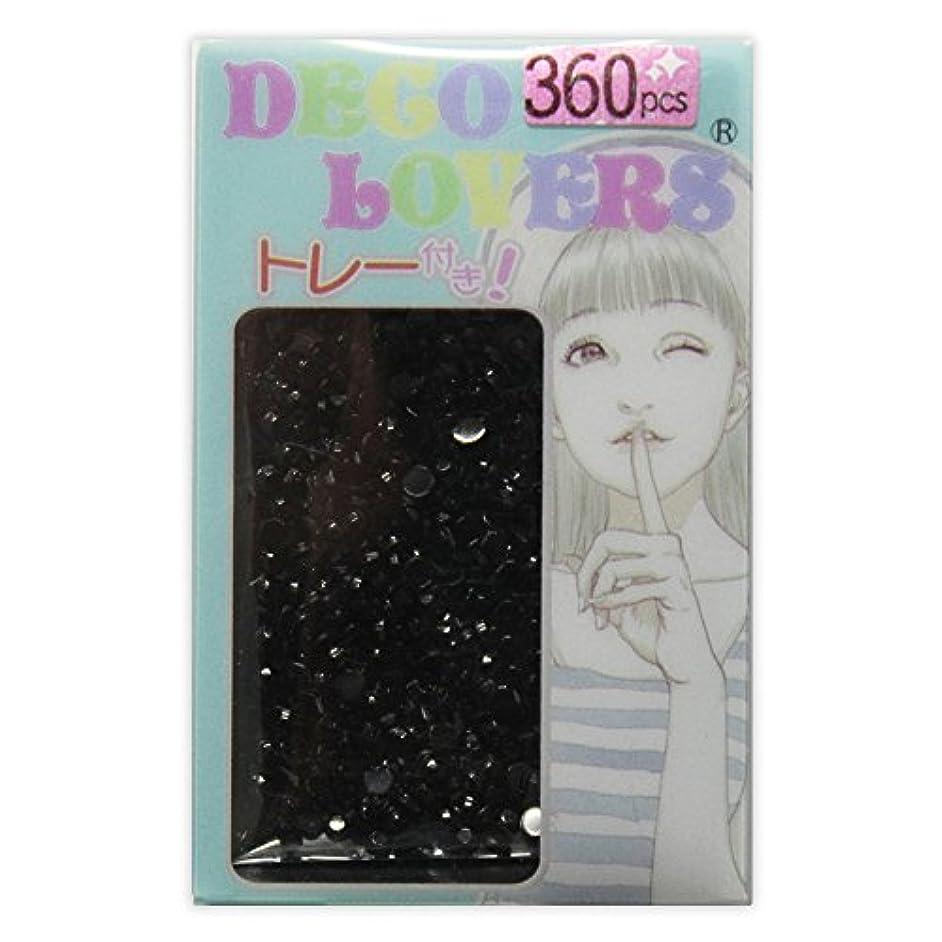 アイロニースチュワードセットアップラインストーン DL021/acryl2mm black