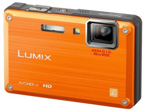 パナソニック 防水デジタルカメラ LUMIX (ルミックス) FT1 サンライズオレンジ DMC-FT1-D