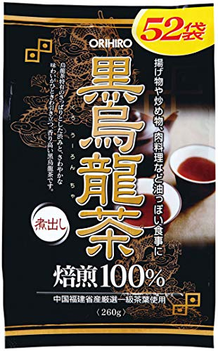 オリヒロ 黒烏龍茶 52包 お茶