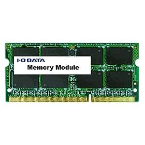 I-O DATA ノートパソコン用 メモリ DDR3L-1600 (PC3L-12800) 8GB×1枚 204Pin 5年保証 SDY1600L-8G/EC