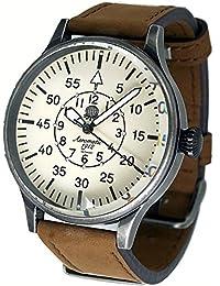 エアロマチック1912 腕時計 二戦 ドイツ 航空 偵察員 復刻 A1152N [並行輸入品]