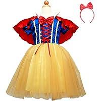 ハロウィン かわいい 白雪姫 風 子供用 衣装 キッズコスチューム 女の子 (130cm)