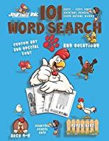 101 Word Search for Kids 3: SUPER KIDZ Book. Children - Ages 4-8 (US Edition). Chicken Rooster OK. Farm Animals Words w custom art interior. 101 Puzzles with solutions - Easy to Hard Vocabulary Words -Unique challenges and learning for fun activity time! (Superkidz - Farm Animals Word Search for Kids)